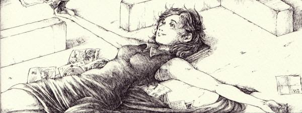 HP「M家に横たわるルミナ」